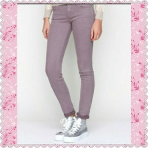 "MOTHER ""THE LOOKER  POP"" SKINNY JEANS-SIZE 25"